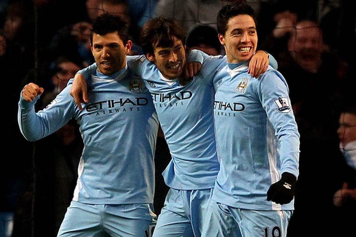 Can Silva and Nasri play to their best at the same time?