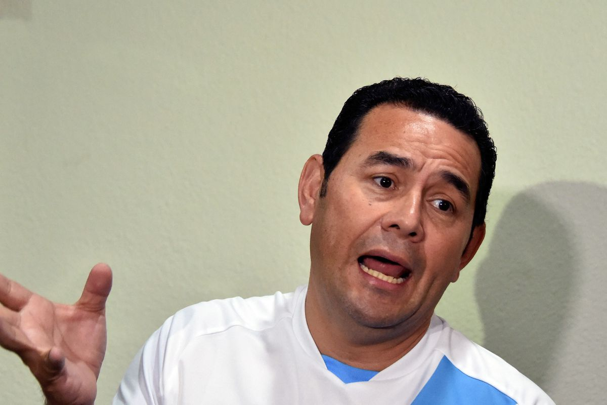 Jimmy Morales, Guatemala's next president.
