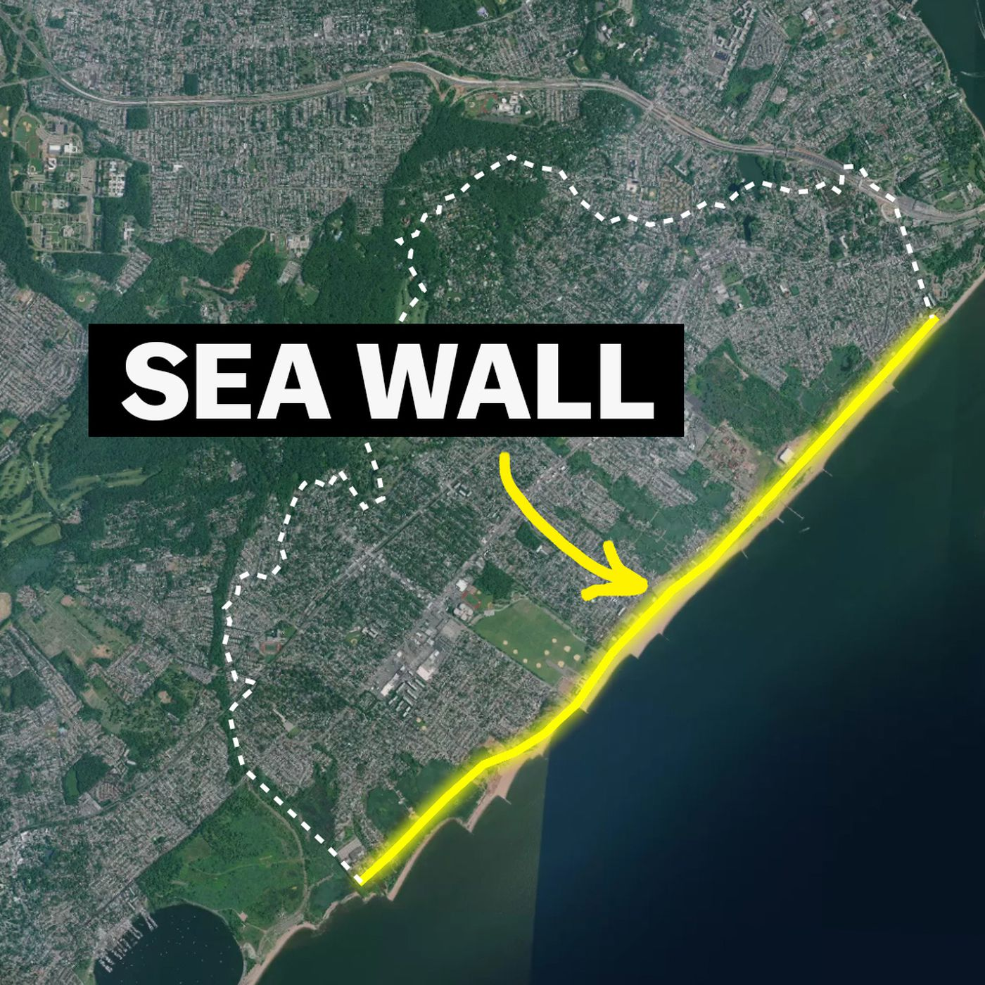 Image result for staten island seawall