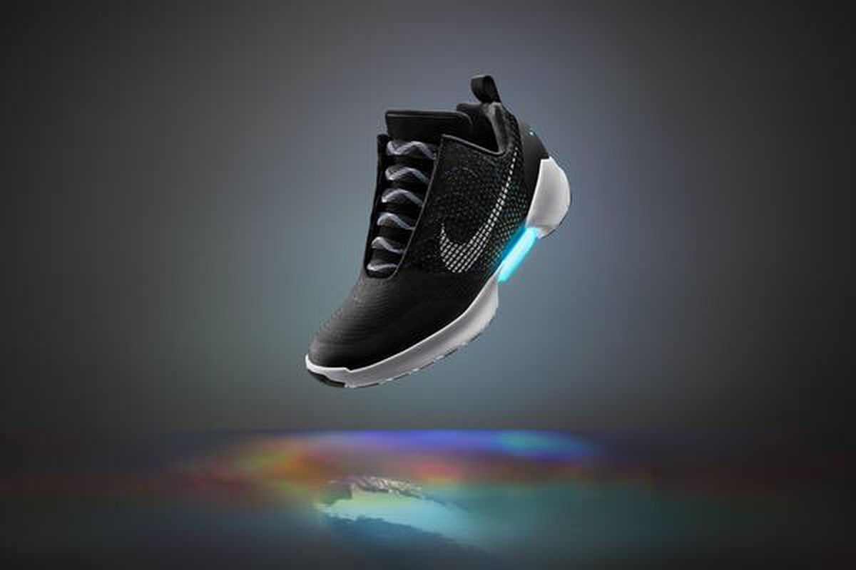 sports shoes 50a07 a4bf9 Nike has finally announced when it will begin selling its self-lacing  sneakers inspired by the shoes worn by Michael J. Fox in Back to The Future  II.