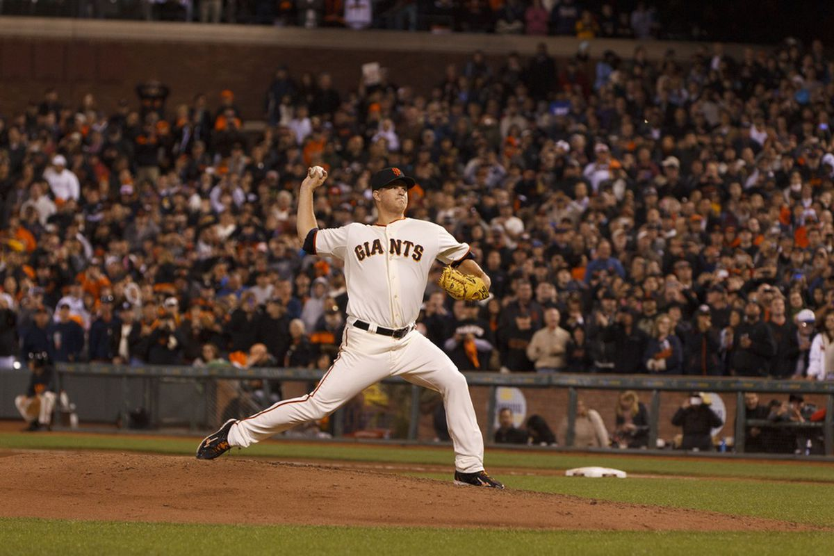 Matt Cain is a prime buy-low candidate.