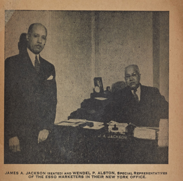 Esso was one company that used the Green Book to openly court black customers.