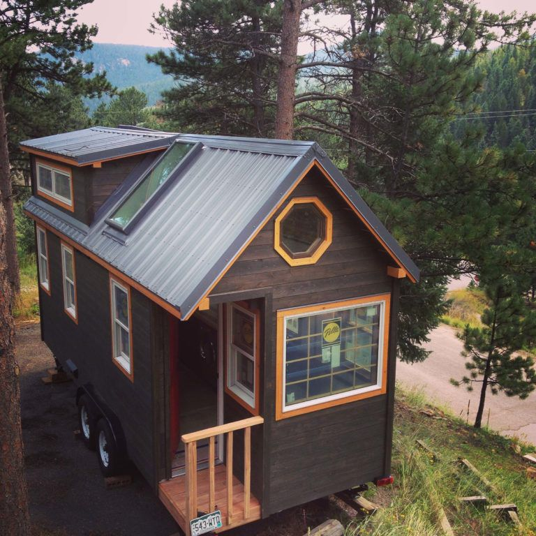 A 200 Square Foot Tiny House On Wheels Is For In Port Townsend Has Enough Special Features That It May Be Worth Trip Or Maybe Can Take Itself