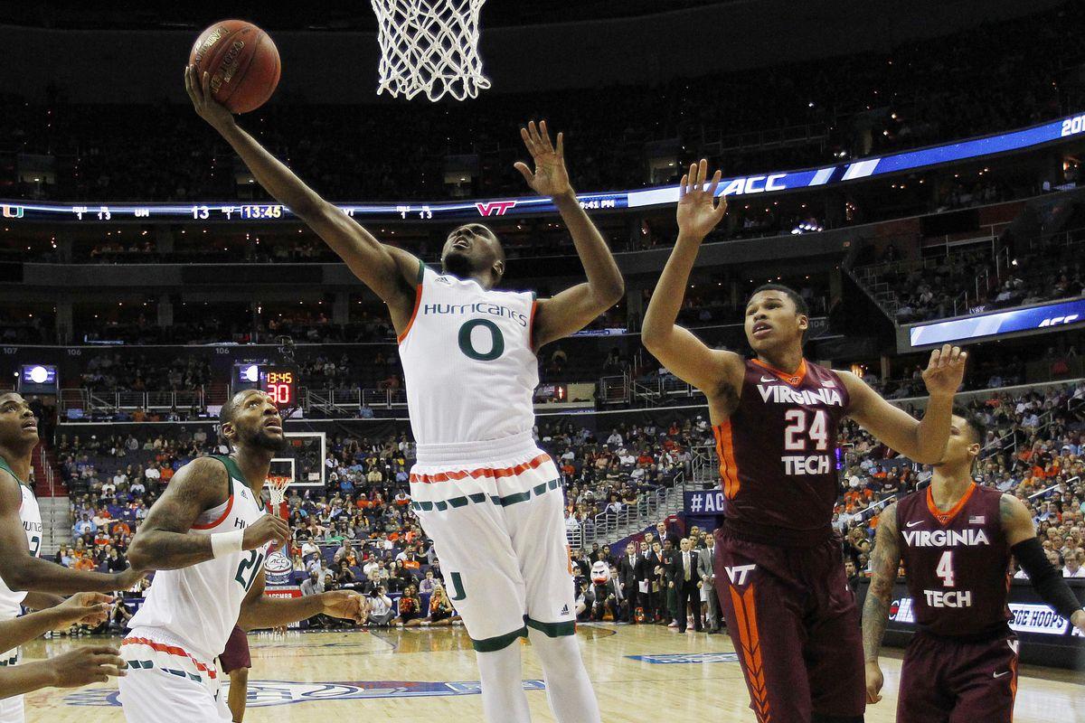 NCAA Basketball: ACC conference tournament-Virginia Tech vs Miami