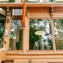 """<b>↑</b> All the walking, shopping, and vintage hunting you've done has earned you some relaxation, so head to <b><a href=""""http://www.cynergyspa.com/"""">Cynergy Spa</a></b> (87 Fort Greene Place). Here you can indulge in subtly updated versions of classic s"""