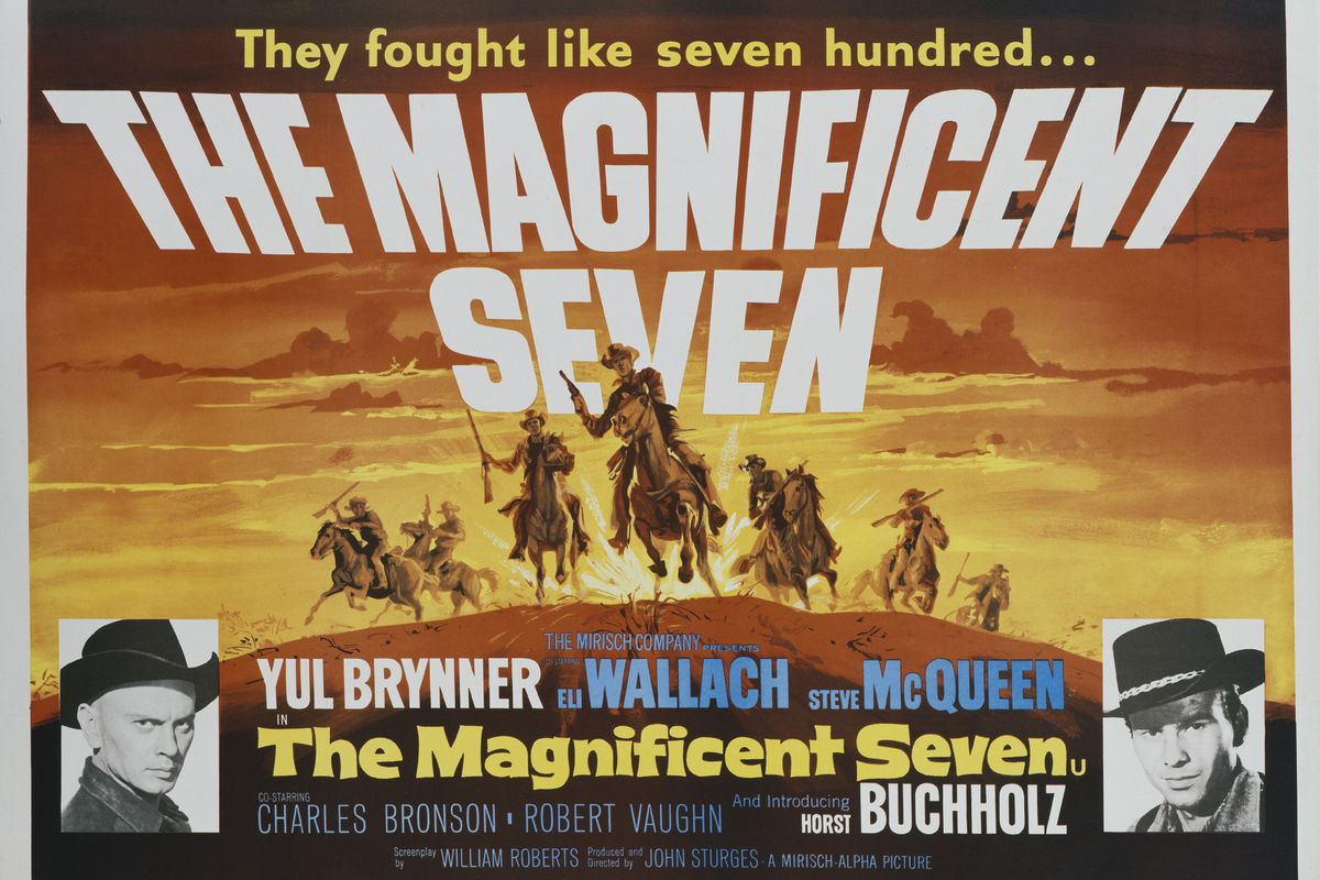 A Brief History of 'The Magnificent Seven' - The Ringer