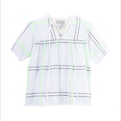 """Ace & Jig Peasant Blouse, <a href=""""http://life-curated.com/index.php?product=AJ277&shop=1&new=1"""">$195</a> at Life:Curated"""