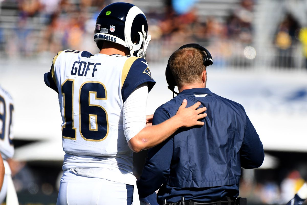 Few of my favorites as Jared Goff of the Los Angeles Rams was traded to the Detroit Lions.