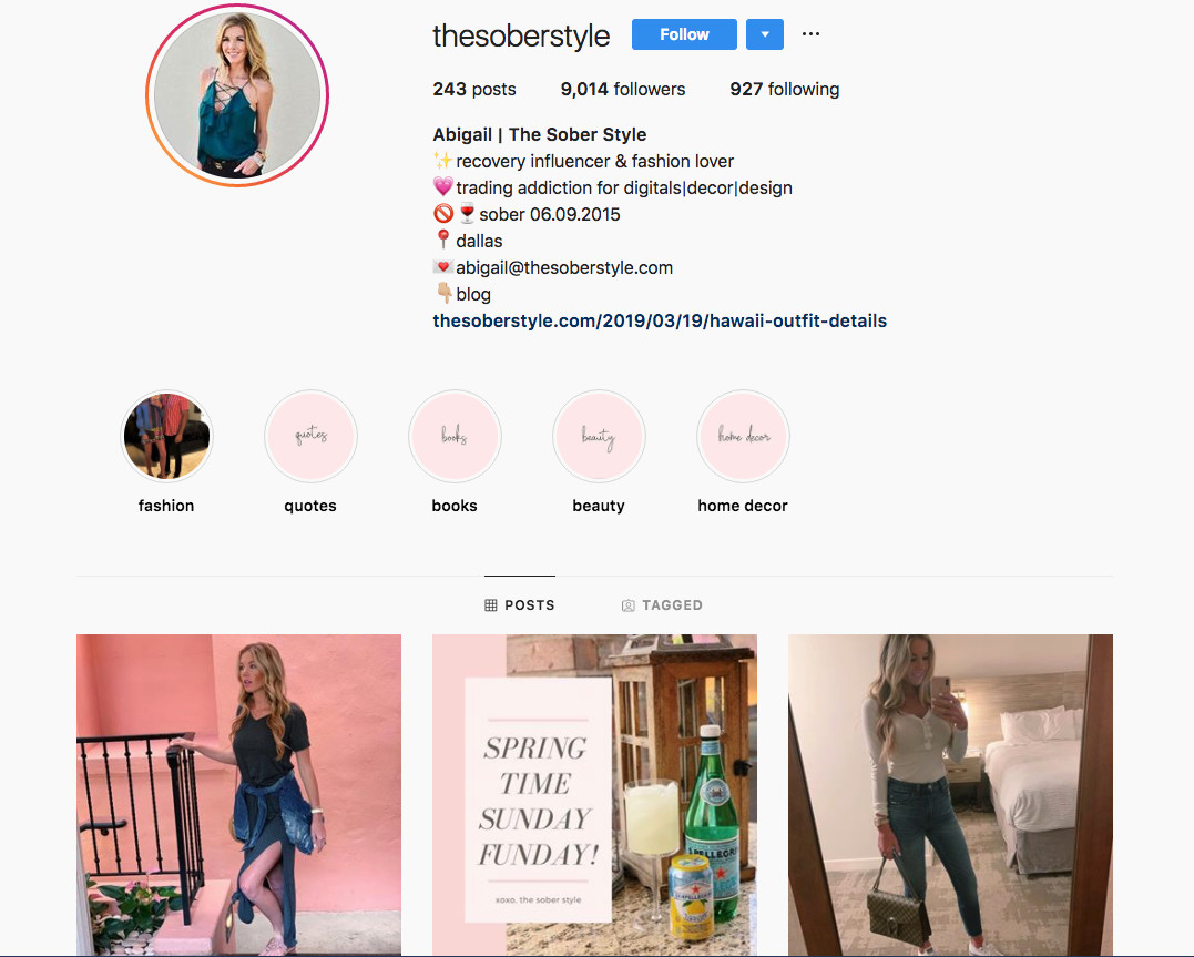 Sober Influencers Are All Over Instagram Vox