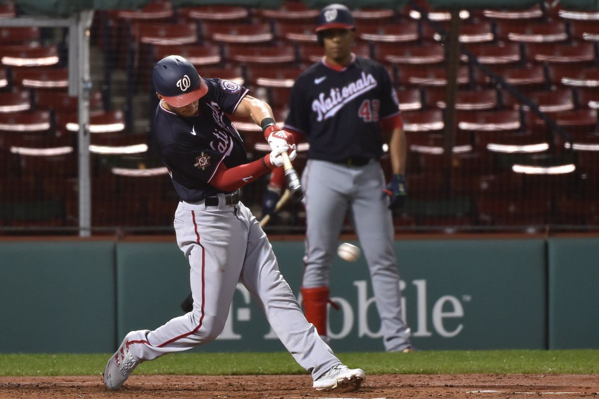 MLB: Washington Nationals at Boston Red Sox