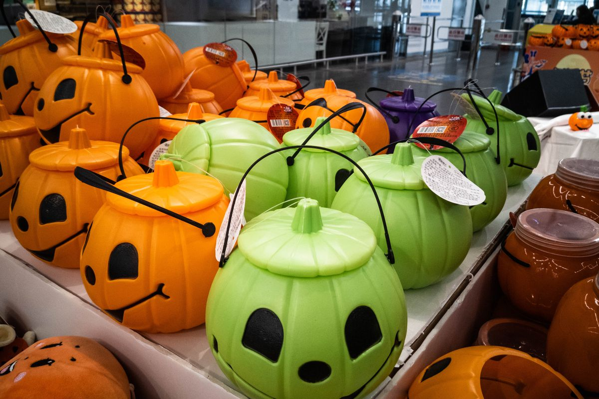 China Prepares For Halloween