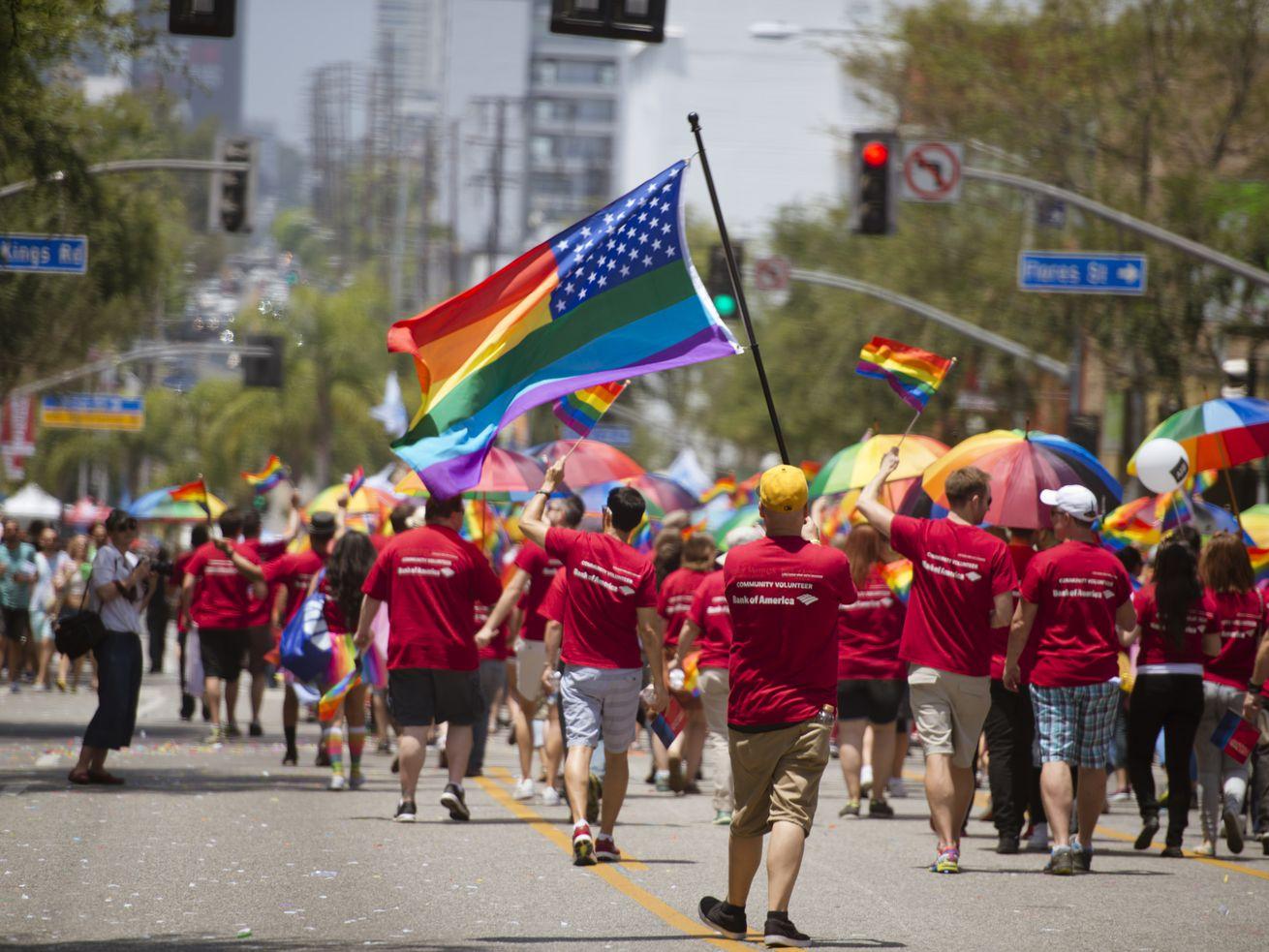 LA's annual Pride Parade takes place Sunday.
