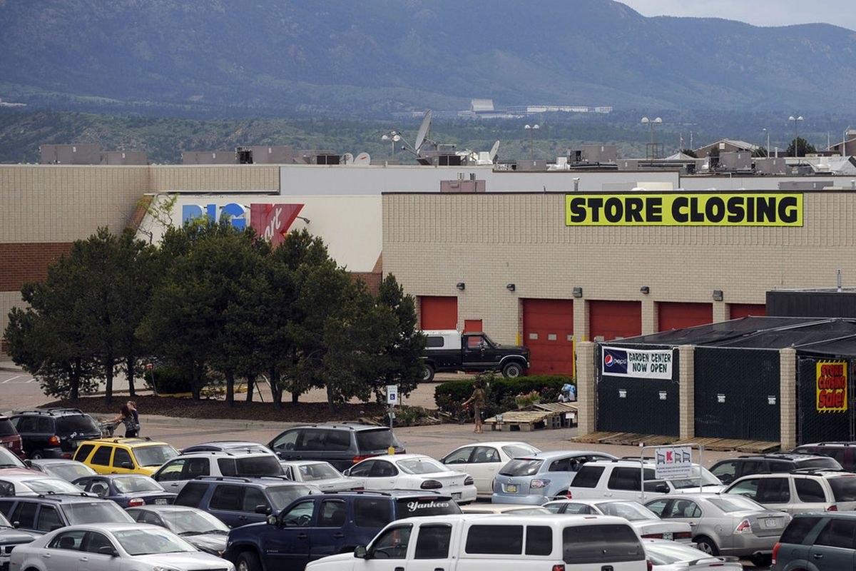 K Mart will be closed for about 6-8 weeks.  I always though Kenyon Martin was K-Mart.  Speaking of the store, we always called it Came Apart because of the junky stuff.  Kind of applied to the players too.