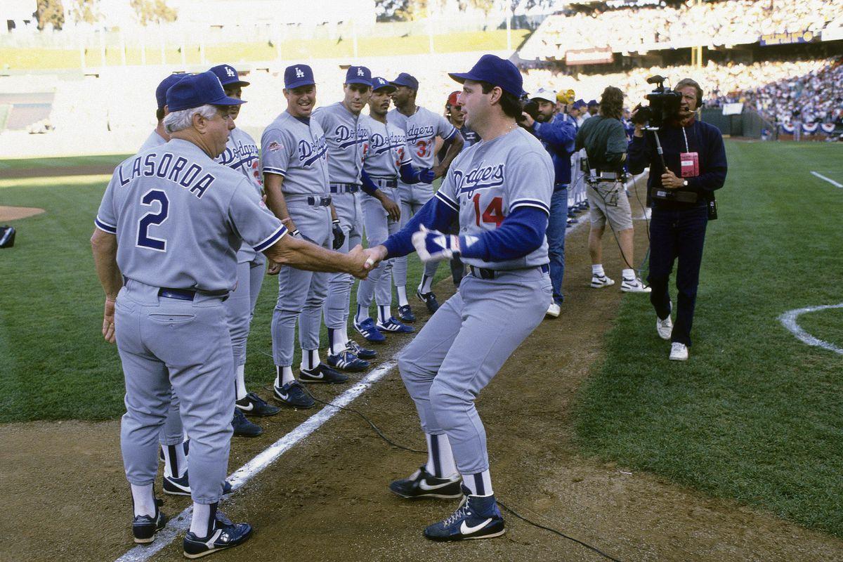 World Series:Oakland Athletics v Los Angeles Dodgers, October, 1988