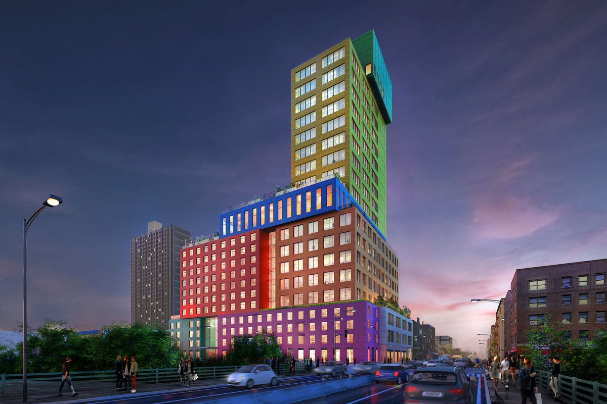 Mvrdv S First Major American Project Revealed Curbed Ny
