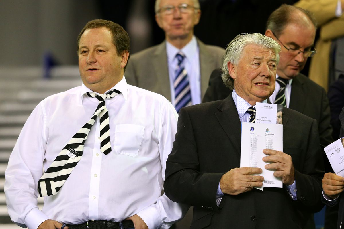 Mike Ashley's backwards tie is a metaphor for Newcastle