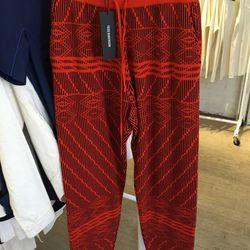 Ripple jacquard track pants, $195, originally $495