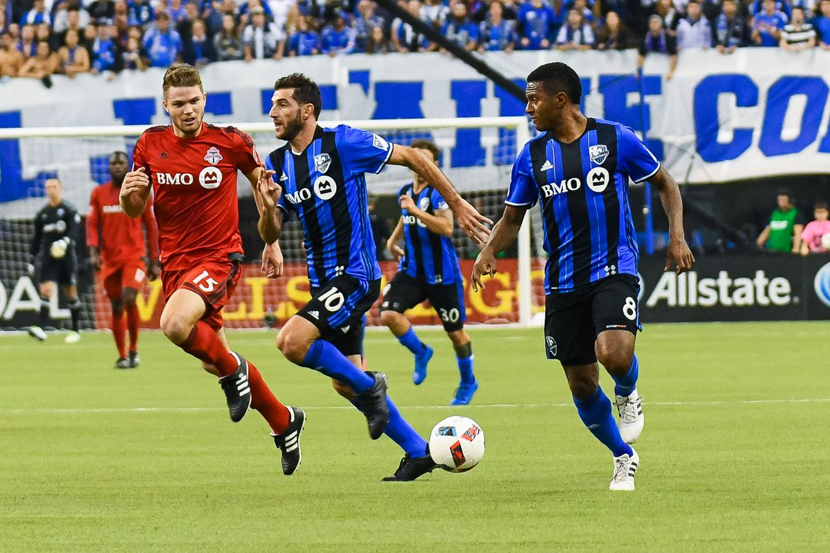 SOCCER: NOV 22 MLS Conference Final Leg 1 - Toronto FC at Impact
