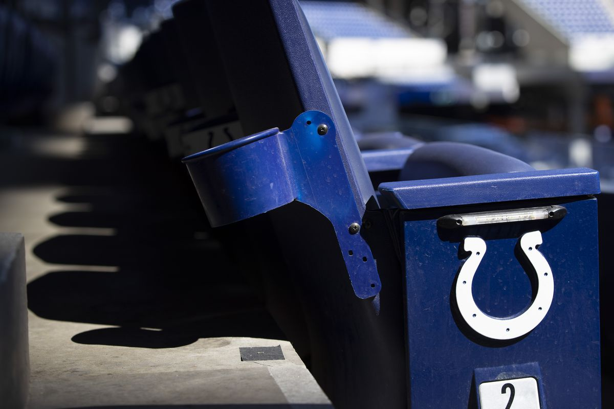 Indianapolis Colts seat and logo