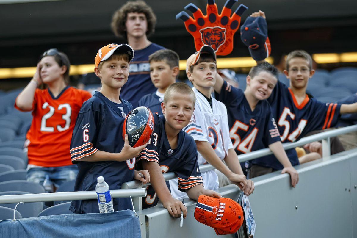 NFL: AUG 21 Preseason - Raiders at Bears