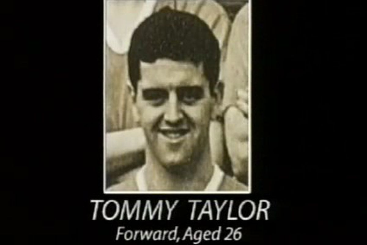 Taken from us far too soon. Tommy Taylor was perhaps one of, if not the, greatest forward United has ever seen.