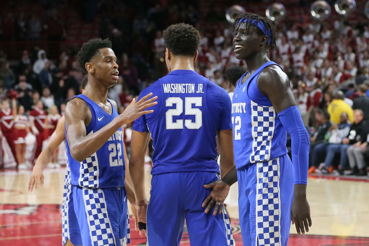 factory authentic 30a37 59f2a Kentucky to face Davidson in the 2018 NCAA Tournament - Team ...