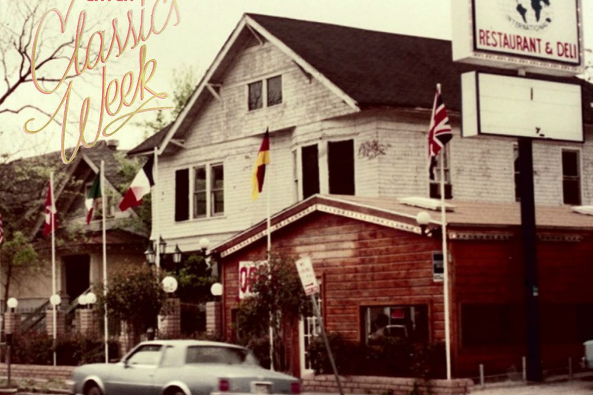 Hungry's first location in Montrose in 1975.