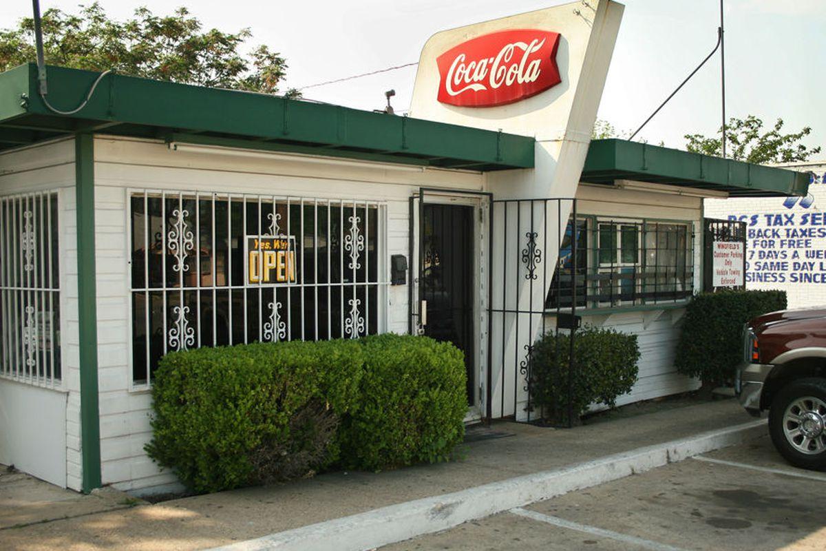 Wingfields, home of legendary burgers.