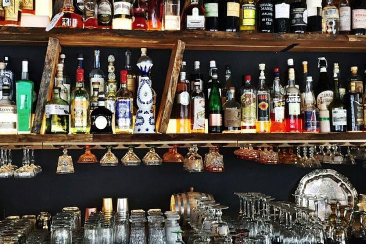 Bar at Grange Hall