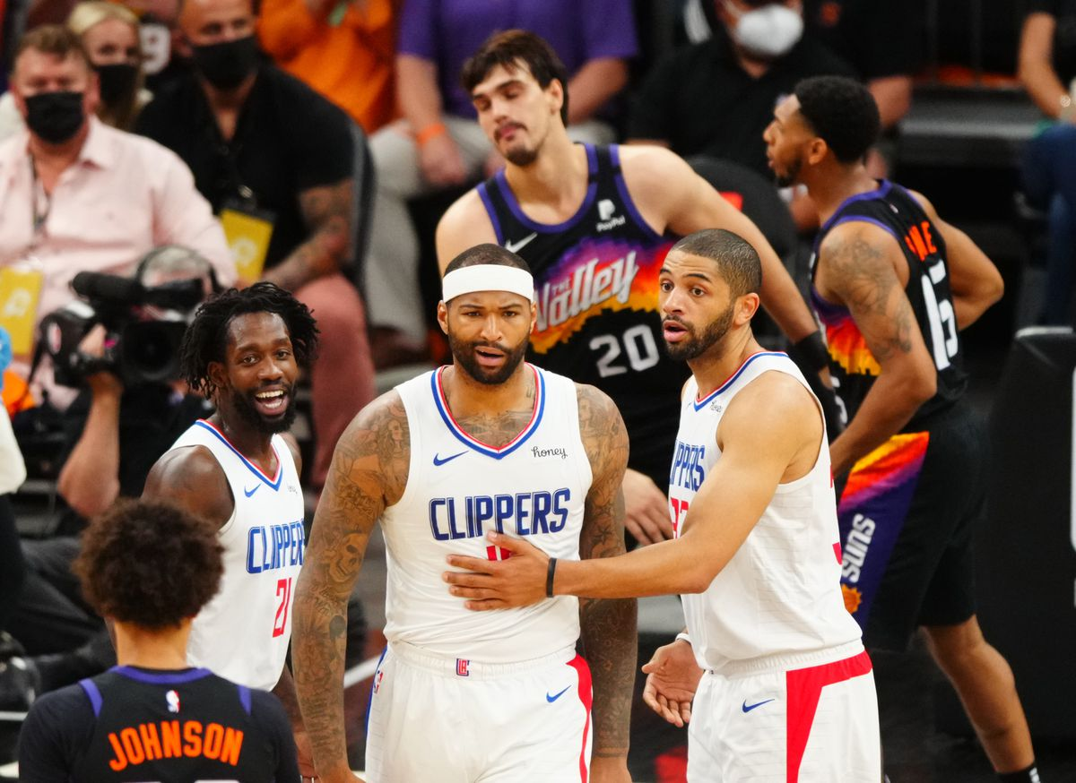 NBA: Playoffs-Los Angeles Clippers at Phoenix Suns