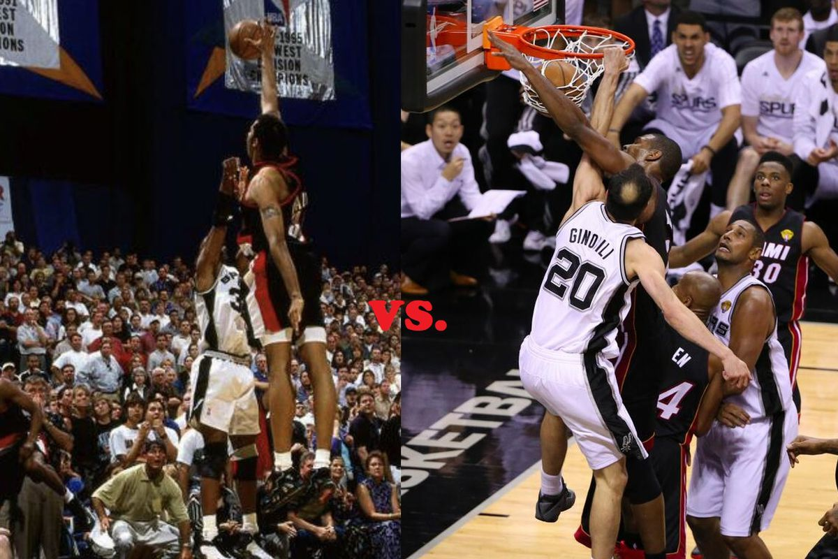 The Spurs greatest playoff play: The Finals!