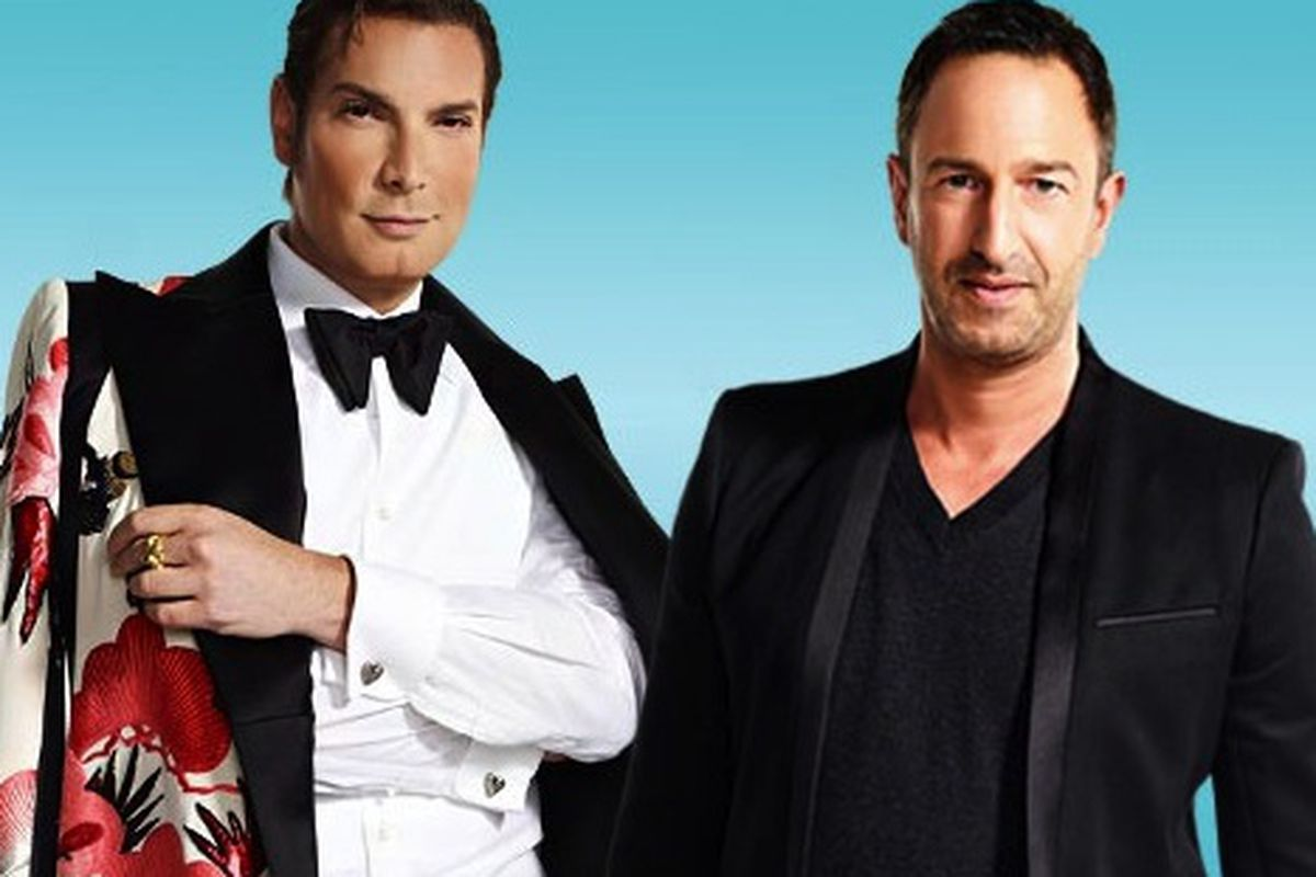 Cameron and Christos via Hollywood Greek Reporter