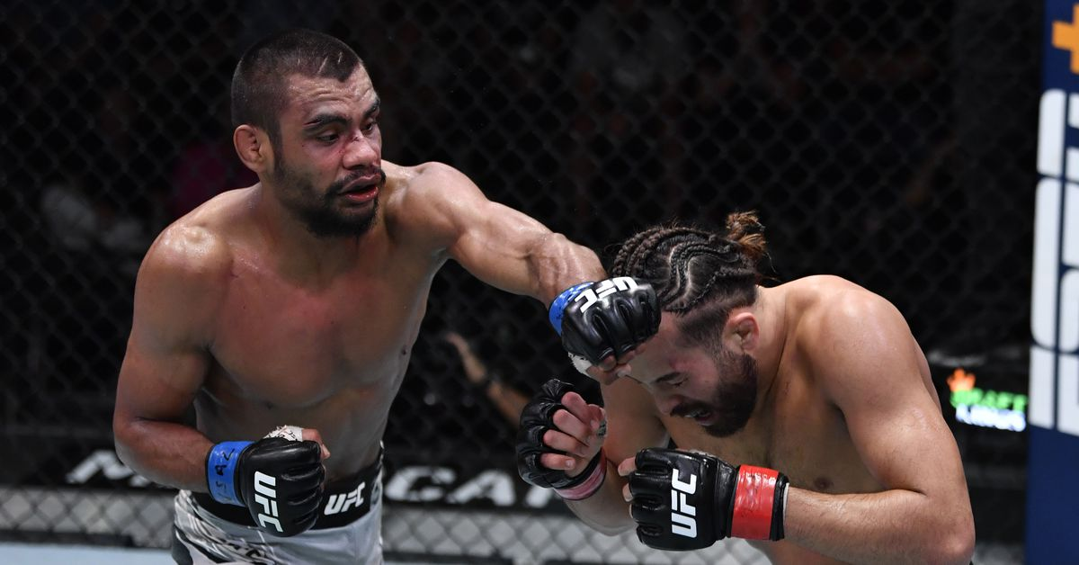 Raulian Paiva barely remembers first round of UFC Vegas 32 'war' with Kyler Phillips