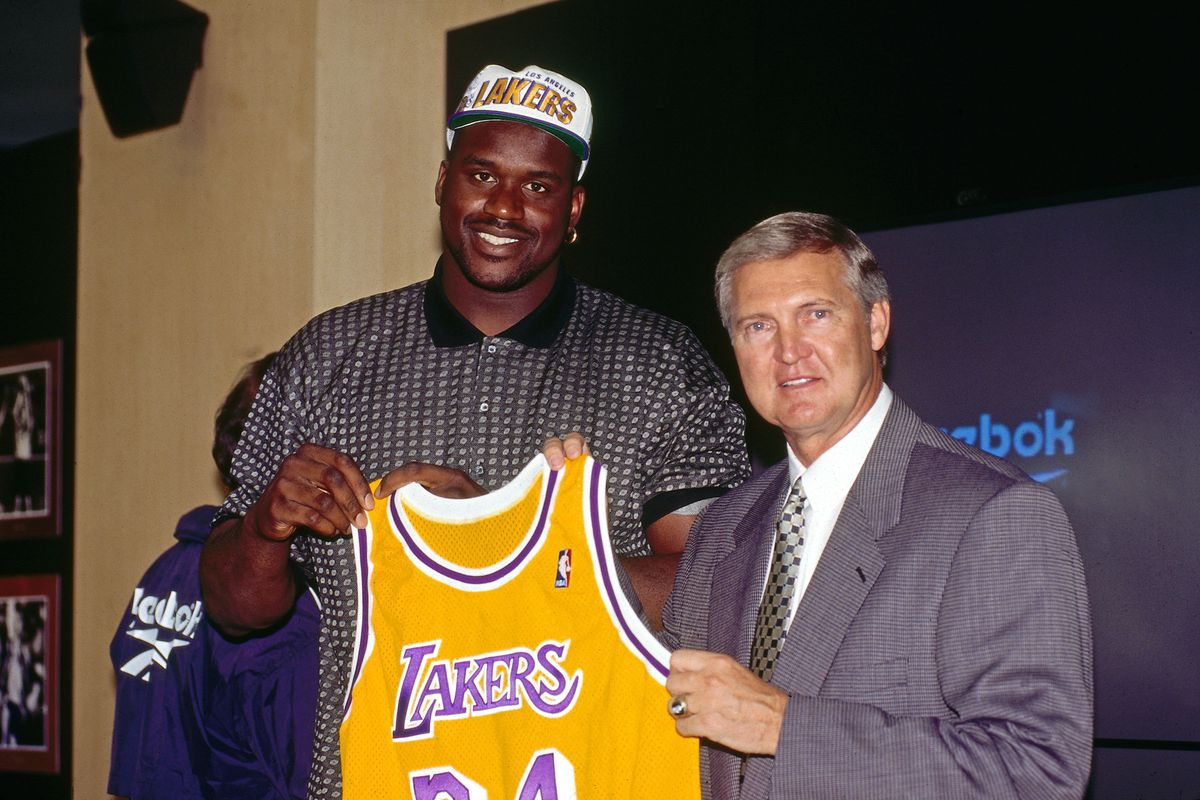 Shaquille O'Neal signs with the Los Angeles Lakers Press Conference