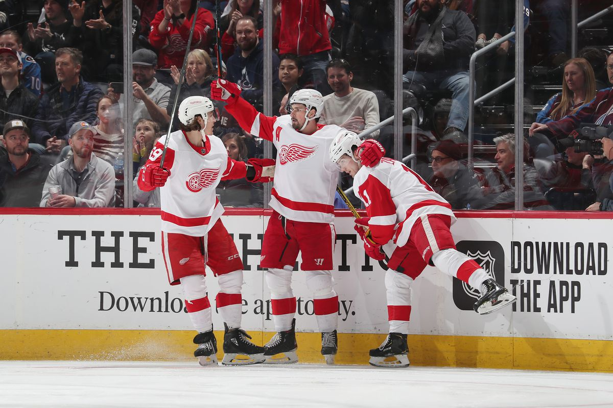 Detroit Red Wings v Colorado Avalanche