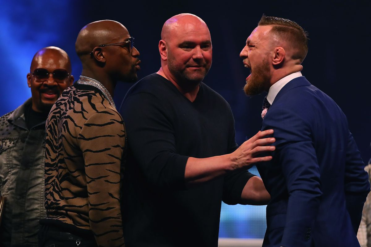 Ufc Files Request To Co Promote Floyd Mayweather Vs Conor Mcgregor