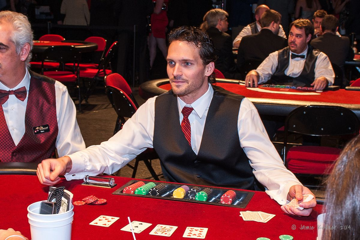 Ron Hainsey will be dealing blackjack at Casino Night for the next three years.