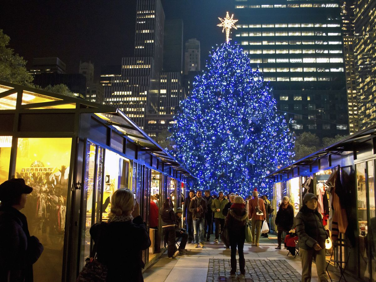 Bryant Park Christmas Market.Christmas In New York The Best Nyc Holiday Markets Curbed Ny