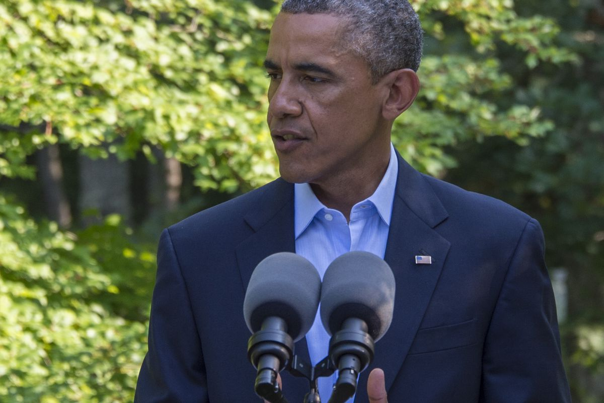 President Obama issued a statement on the shooting of Michael Brown on Tuesday.