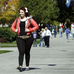 Brigham Young University student Alana Smith says she will now go on an LDS mission since the age limit changed.