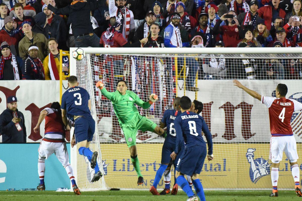 Soccer: International Friendly Men's Soccer-Paraguay at USA