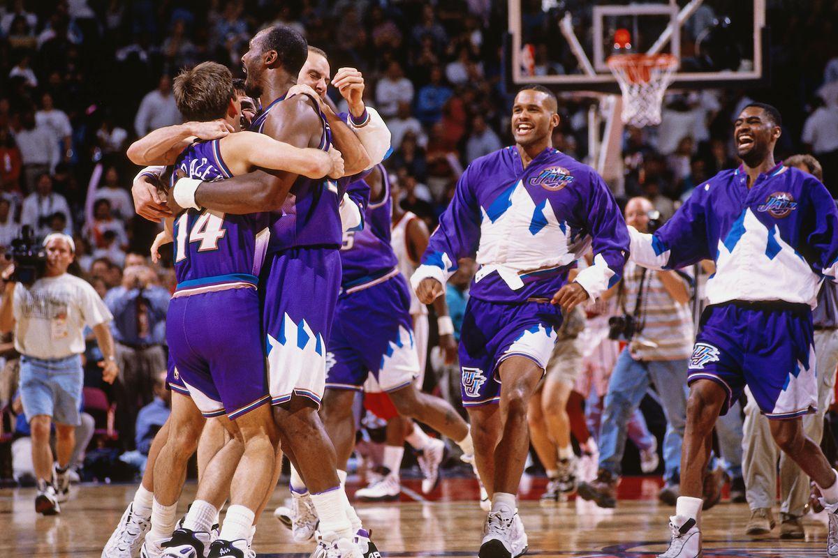 1997 Western Conference Finals Game Six: Utah Jazz v Houston Rockets