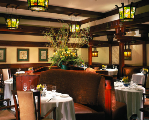 The dining room at AR Valentien