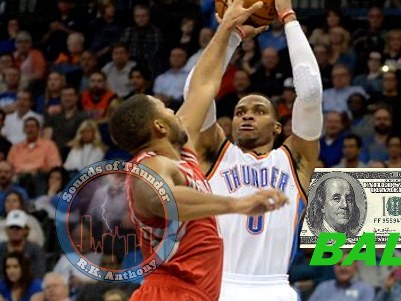 Sounds Of Thunder Russell Westbrooks Cotton Shot Is Money In The Bank