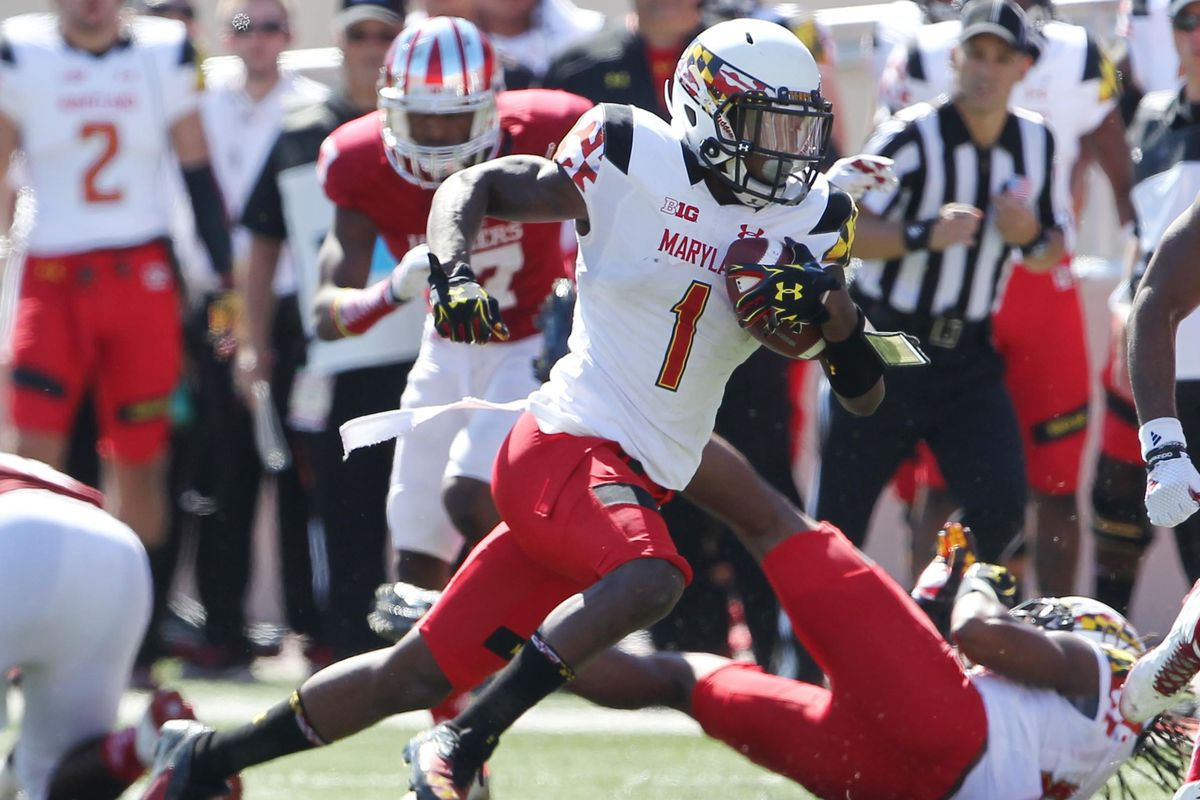 Maryland wide receiver Stefon Diggs.