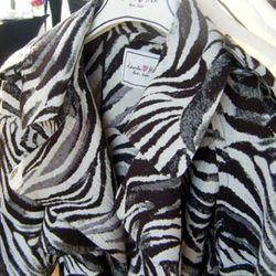 Zebra coat, $199