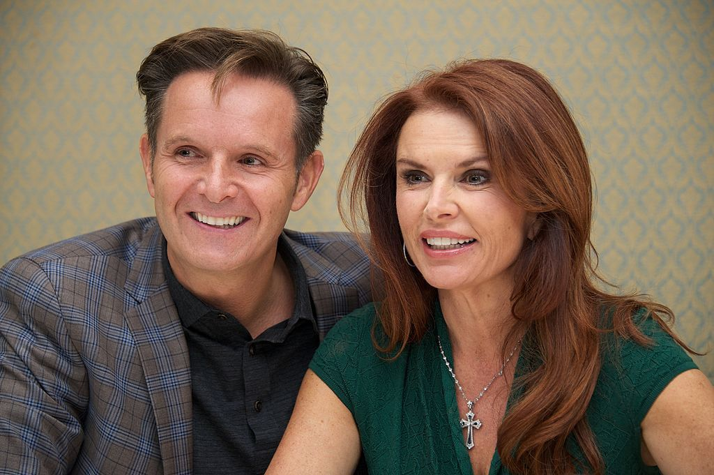 Burnett and Roma Downey (GettyImages)