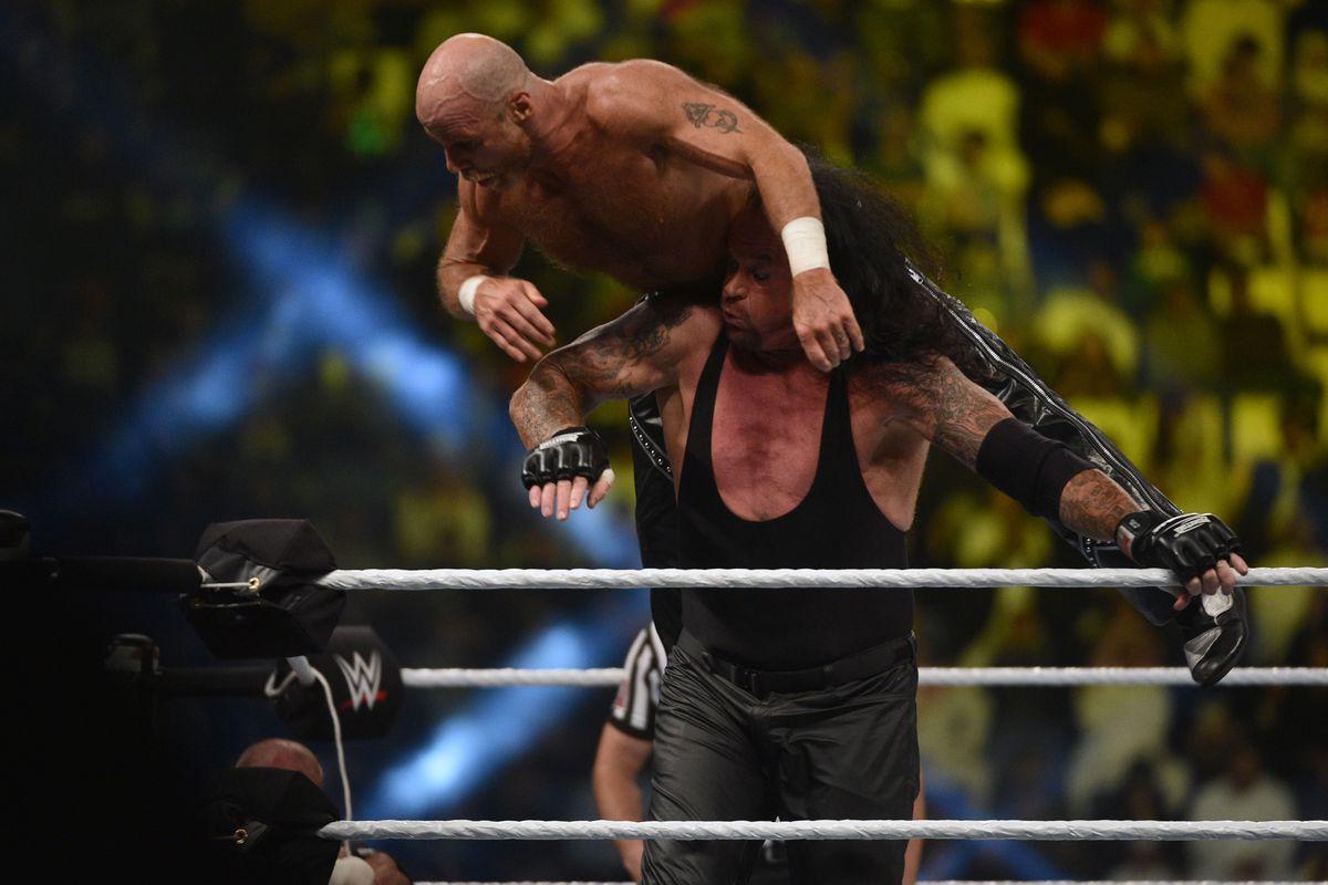 SAUDI-ENTERTAINMENT-WWE