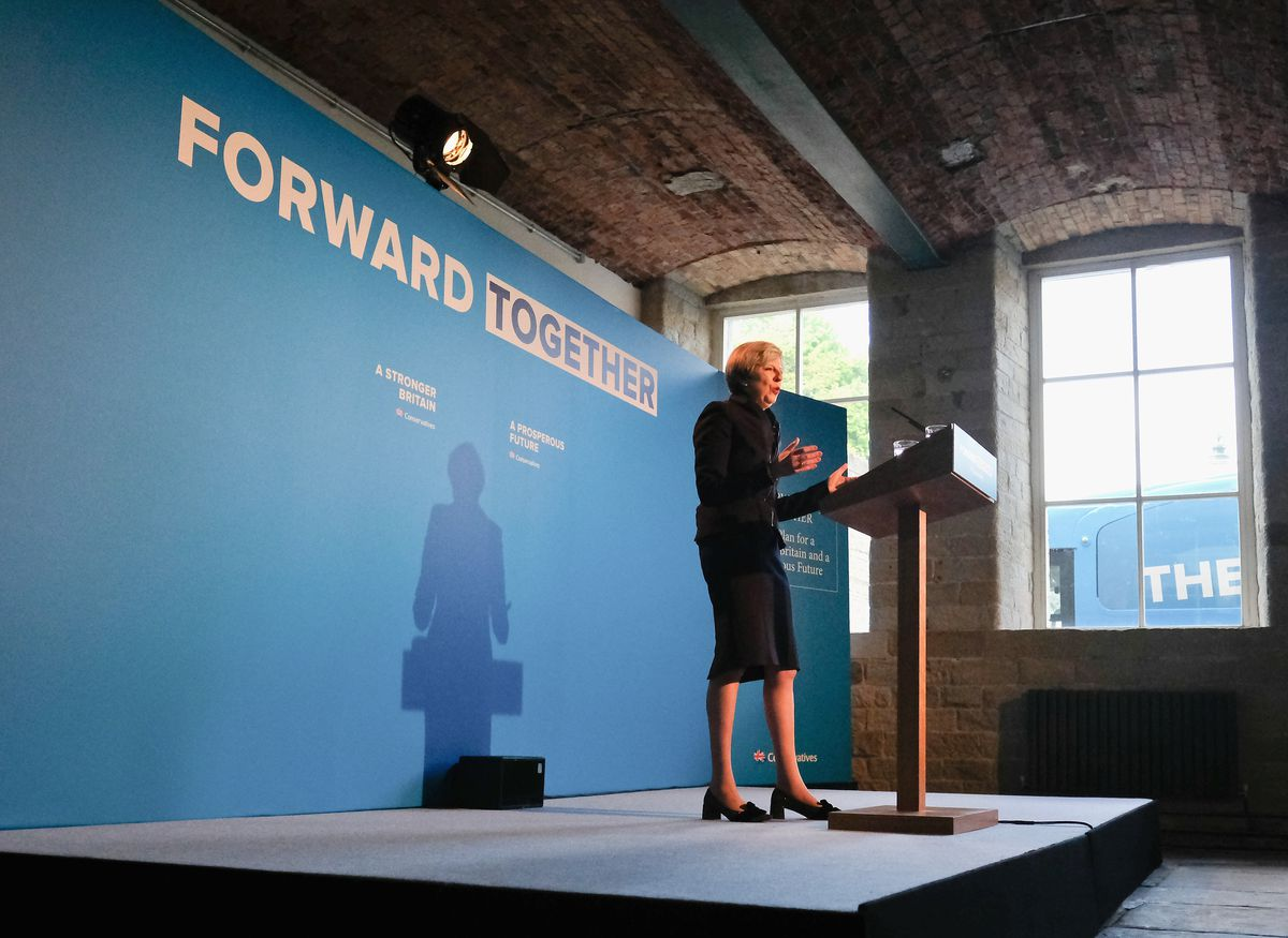 The Conservative Party Launch Their Election Manifesto