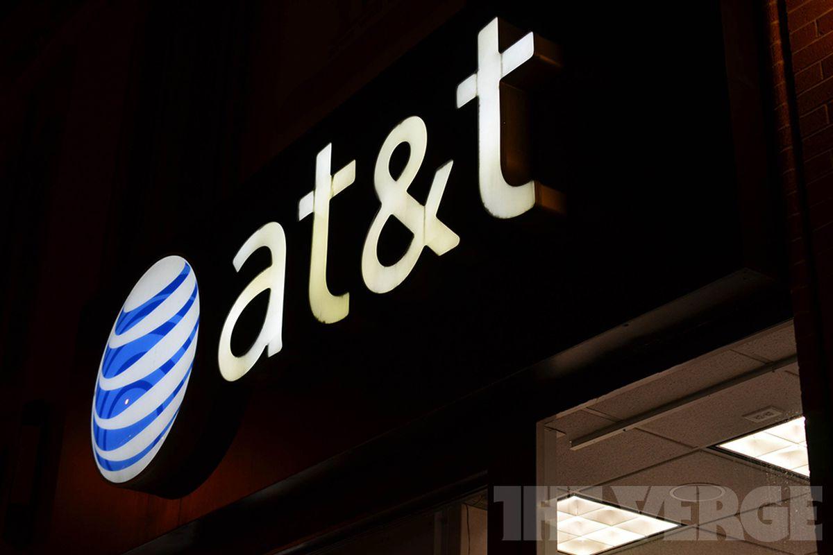AT&T store logo symbol stock (1020)